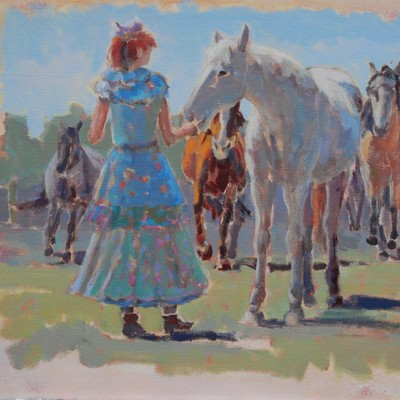 Lady of the horses