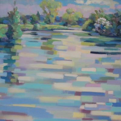Frühling am Fluss