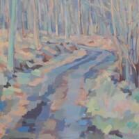Waldweg (Anfang März)