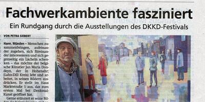 Mündener Allgemeine zur Ausstellung